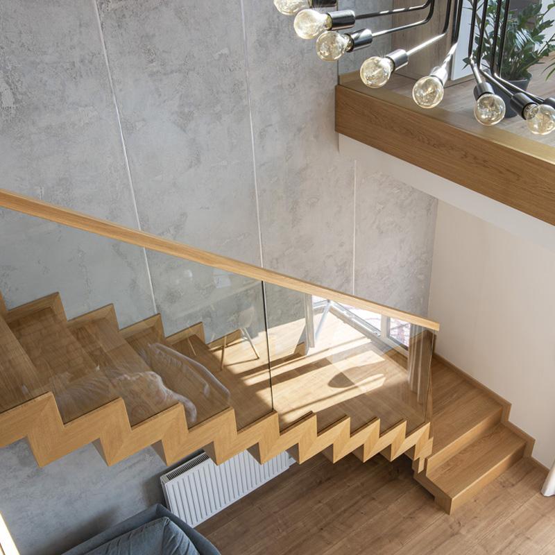 Schody dywanowe na beton P281 - Producent schodów drewnianych - Olsztyn